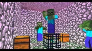 minecraft zombie ganman style