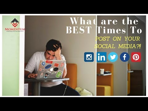 Best Time to Post on Social Media for Business