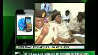 Retrieval and Issuance of diplomatic passports