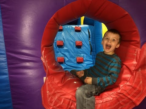 Thumbnail: Pump it Up Playtime! Super Fun Indoor Bounce House & Obstacle Course