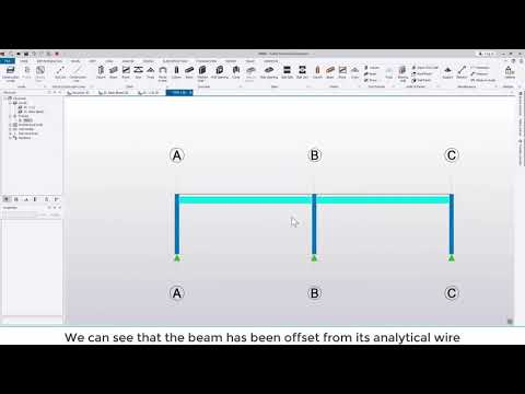 Tekla Structural Designer 2020 - Quick start 1 - Getting started with a simple frame