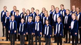 Who has seen the wind - Geert Van der Straeten -Clara Schumann Kinderchor Berlin.flv
