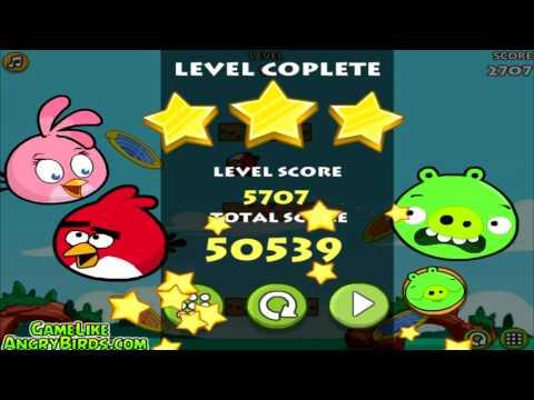 Angry Birds Heroic Rescue - GAMEPLAY WALKTHROUGH (Mini Angry Birds Bad Piggies)