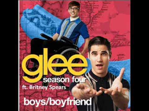Boys/Boyfriend Glee ft. Britney Spears