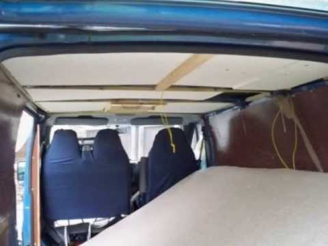 Campervan Conversion How To Ford Transit Swb Low Roof