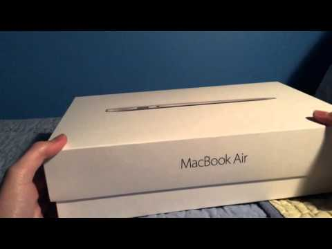 MacBook Air 11 inch Unboxing & Setup
