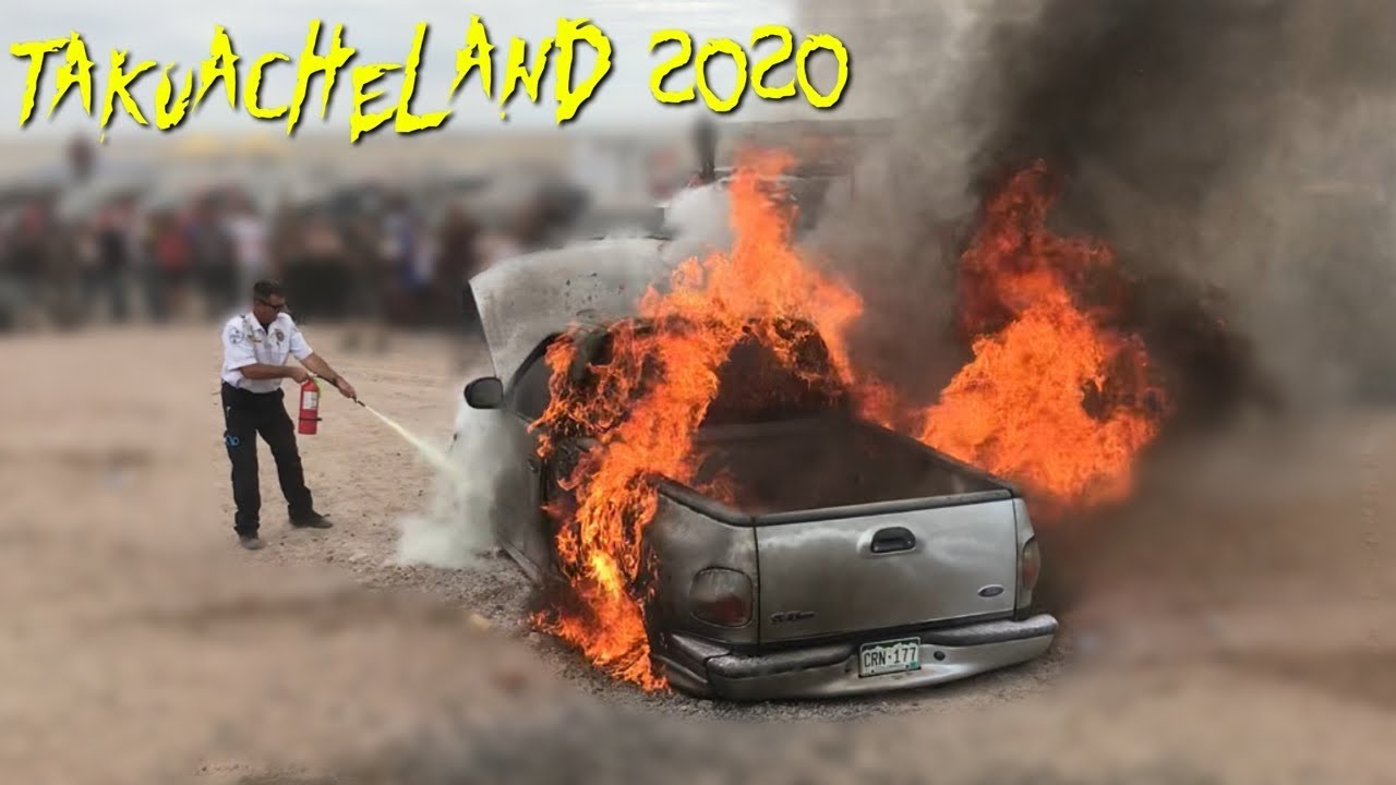 Takuacheland Colorado Truck Show **TRUCK BURNS DOWN**