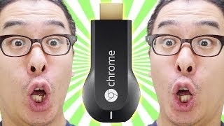 俺のおしりからキャスト!グーグル版Apple TV「クロームキャスト」がやってきた!その3 / Google Chromecast