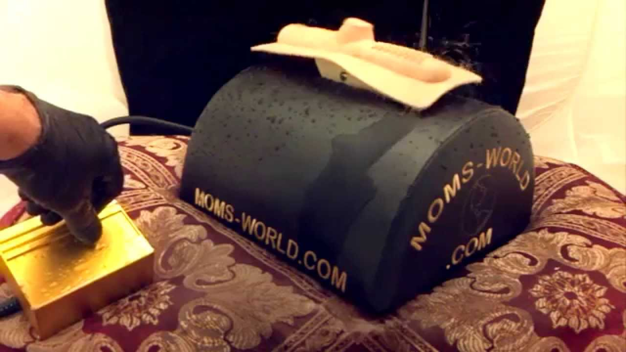 Squirting orgasm, Sybian style machine, MOMs