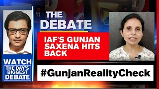 IAF's Gunjan Saxena Affidavit Exposes False Narrative Of The Film | The Debate With Arnab Goswami