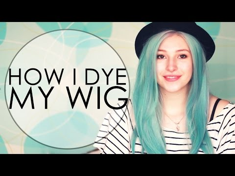 How To Dye A Synthetic Wig | Gleace24