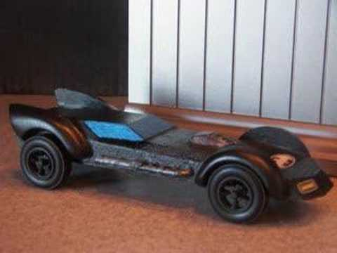 Logan S Cubscout Pinewood Derby Car Batmobile Youtube