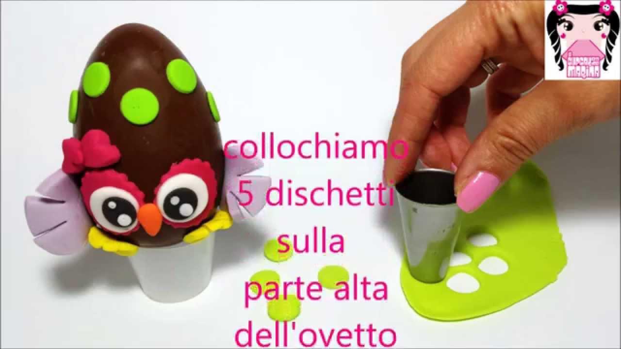 Estremamente Tutorial Uovo di Pasqua decorato - Le Cupcakes della Marina - YouTube TN92