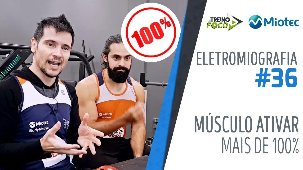 Por quê um músculo contrai mais de 100%? É possível? Como? - Eletromiografia #36