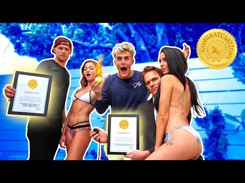 Thumbnail: WE BROKE 8 GUINNESS WORLD RECORDS IN 1 DAY (Official Judge)