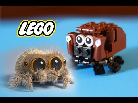 LEGO MOC: How to Build LEGO Lucas the Spider