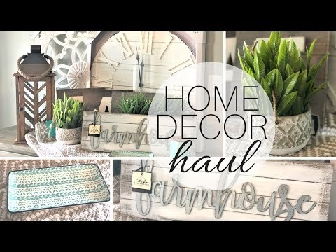 HOME DECOR HAUL w/ talking   Modern Farmhouse Decor   Fixer Upper Style