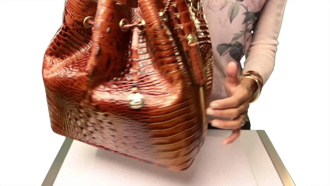 Brahmin Trina Drawstring Bag Video
