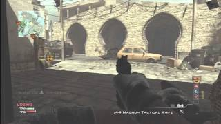 iced knife mw3 knife only m o a b on seatown