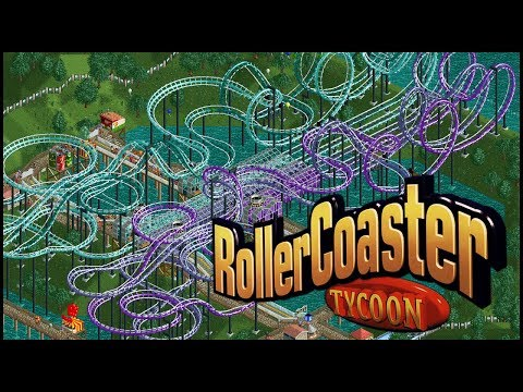 Rollercoaster Tycoon Scenario #40 - Hydro Hills