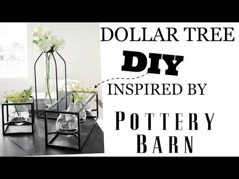SIMPLE DOLLAR TREE DIY ** POTTERY BARN DUPE