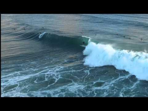 Surfing Gold Coast, Australia Cyclone Winston