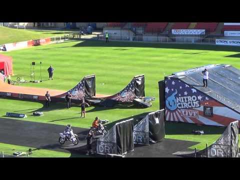 NITRO CIRCUS LIVE 2013.Pt.1.Townsville Aus.