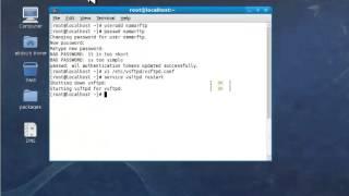 Installation et configuration le serveur FTP sous linux ( Fedora 11 Partie 1 )
