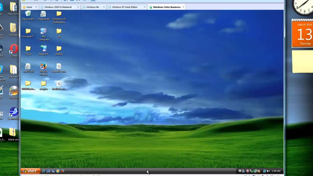 Windows Vista transformed into Windows XP - YouTube