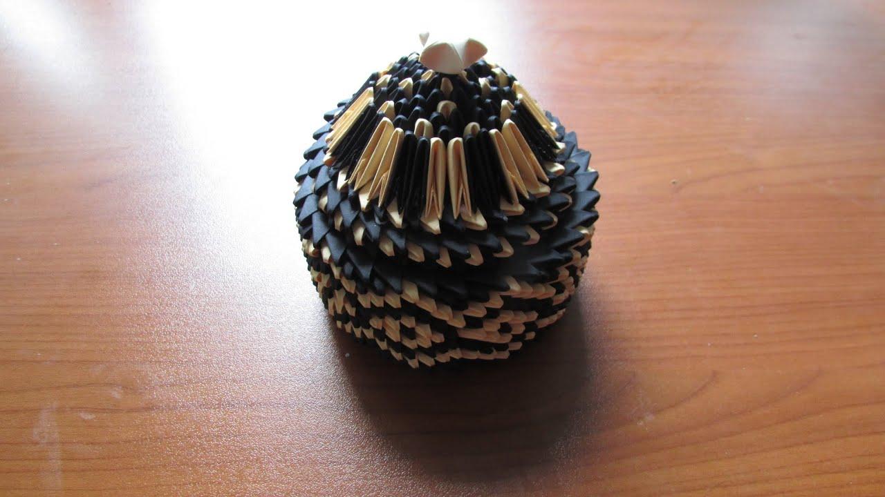 3D Origami Jewellery Box Tutorial #3 - YouTube - photo#43
