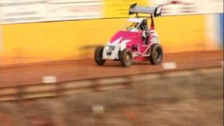 Ray Evernham Playing in a SpeedSTR at East Lincoln Speedway