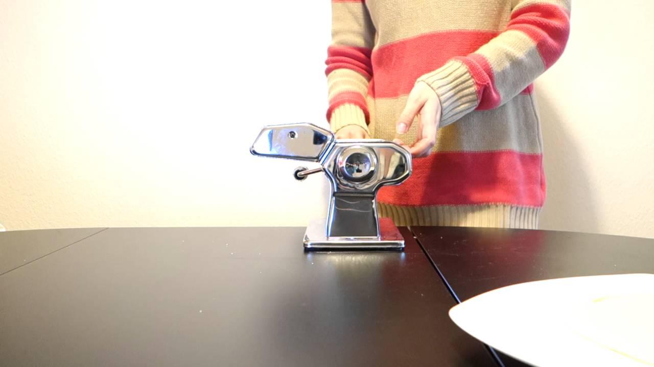 Marcato Atlas 150 Wellness Pasta Machine Review : Making ...