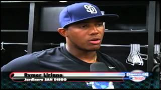 Documental sobre los prospectos dominicanos juego de futuras estrellas 2012 1/3