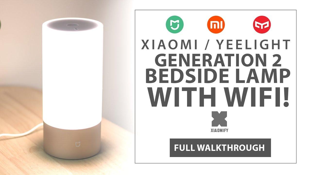 Model Wifi Bedside Xiaomi Yeelight Lampnew ynmwvN8OP0