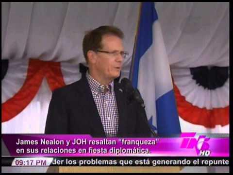 Declaraciones Embajador de USA en Honduras