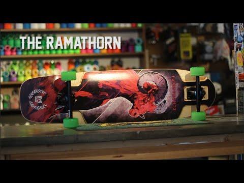 Landyachtz Ramathorn Review: Troy Yardwaste x Flatspot Longboards