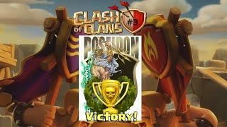 #Clashofclans #sponsorizzo Clash of Clans:Clanwar da 100%!