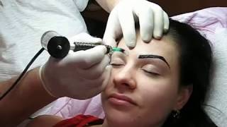 Eyebrow tattoo style Zarescu Dan 0745001236 Arhiva 2004 http://www.machiajtatuaj.ro