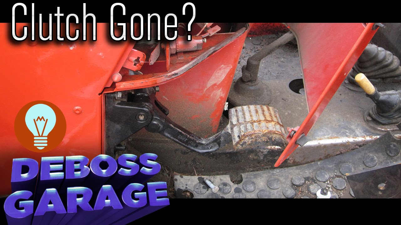 hight resolution of quickly repair a clutch in a zetor tractor