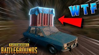 AIR DROP on a DRIVING CAR..GLITCH?? | PUBG Funniest and Best Moments - Ep.6