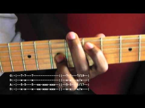 Killing in the name of Guitar Lesson With Tab