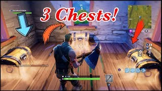 All 7 *New* Secret loot spots in Fortnite Battle Royale!