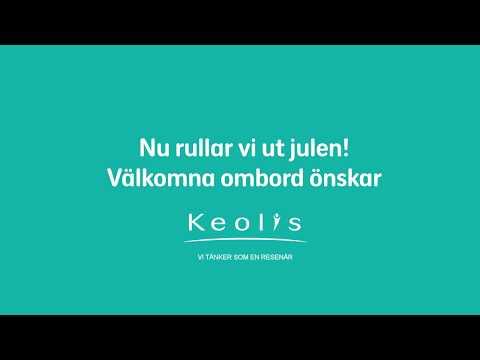 Keolis Sverige önskar god jul