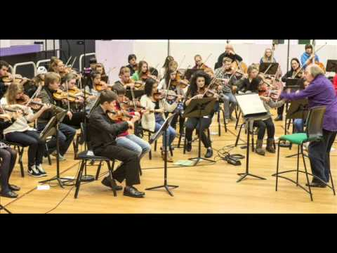 Greater Manchester Music Hub string day Dec 2013