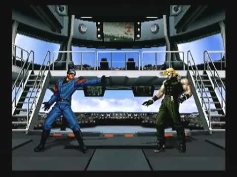 KOF 02um special intro dialogue, special winning action & special winning demo |