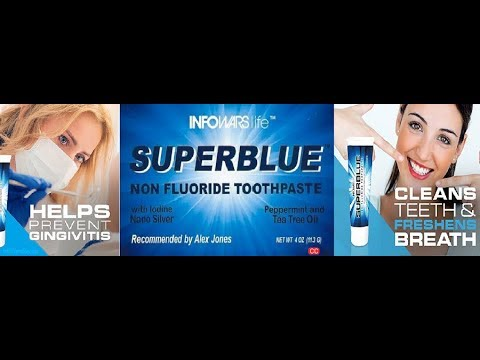 Infowars Product Line: Superblue Toothpaste