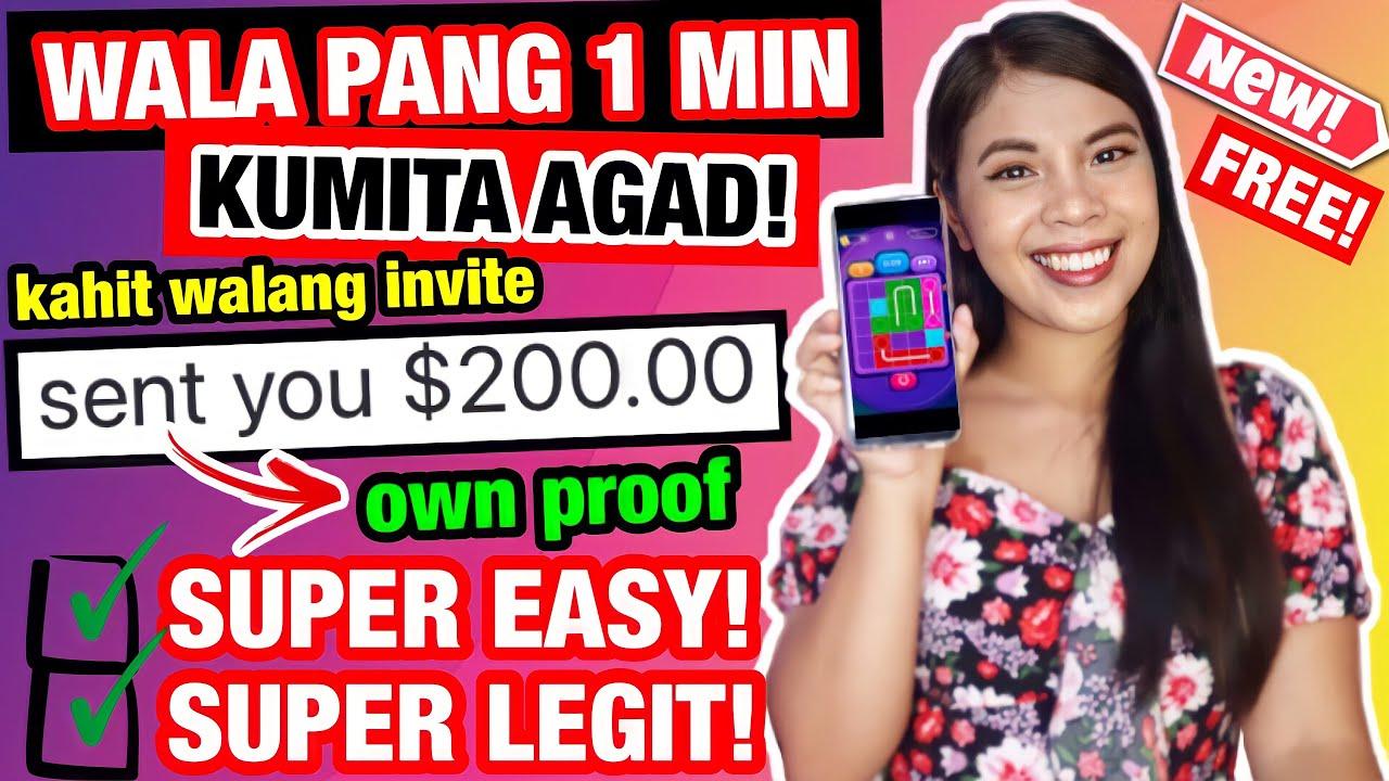 FREE ₱10,000 KINITA KO GAMIT ANG CELLPHONE PAGKA-SIGN UP KUMITA AGAD! | MADALI LANG | 100% LEGIT!