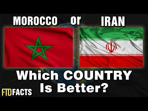 MOROCCO or IRAN - Which Country is Better? | World Cup 2018
