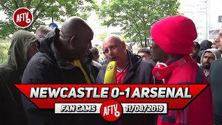 Newcastle 0-1 Arsenal | It Wasn't A Great Performance But We Won In The Rain! (Claude & Ty)
