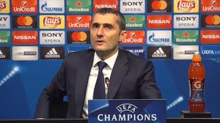 Valverde valora la reacción de la hinchada con André Gomes